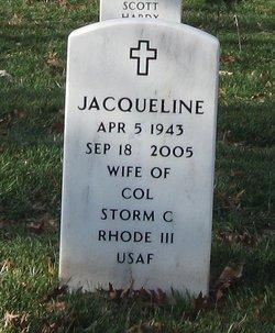 Jacqueline Joan <I>Mazzie</I> Rhode