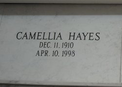 """Camellia M """"Molly"""" <I>Stacey</I> Hayes"""