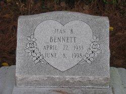 """Jean """"Burnie"""" <I>Burnett</I> Bennett"""