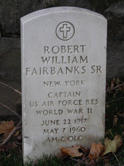 Robert William Fairbanks, Sr