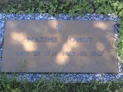 Maxine Fondy