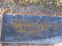 Stonewall Jackson McCall