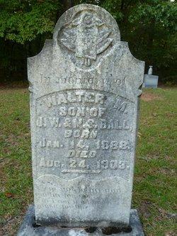 Walter M Ball