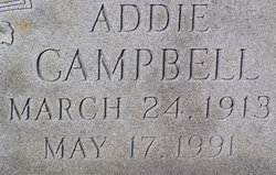 Addie <I>Douget</I> Campbell