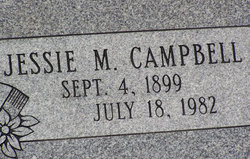 Jessie <I>McDaniel</I> Campbell