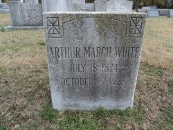 Arthur March White