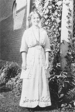 """Flora Jane """"Jennie"""" <I>MacKenzie</I> Elder"""