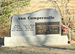 Remi junior van compernolle  find a grave memorial