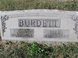 """Samuel Monroe """"John"""" Burdett"""