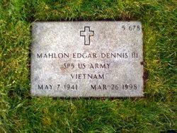 Mahlon Edgar Dennis, III