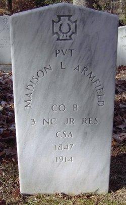 Pvt Madison L. Armfield