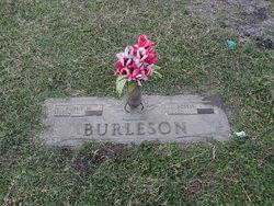 Bessie Eunice <I>Garner</I> Burleson
