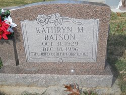Kathryn Margaret <I>Keister</I> Batson
