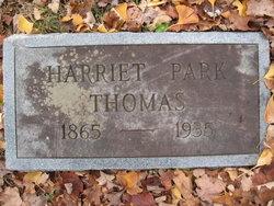 "Harriet ""Hattie"" <I>Park</I> Thomas"