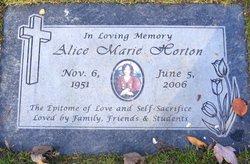 Alice Marie Horton