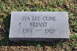 Iva Lee <I>Cline</I> Bryant