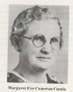 Margaret Eve <I>Cameron</I> Cornia