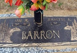 Jeanette <I>Appling</I> Barron