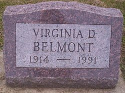 Virginia D. <I>Galligher</I> Belmont