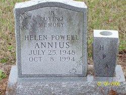 Helen Jean <I>Powell</I> Annius