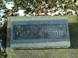 Ester <I>Burks</I> Coomler
