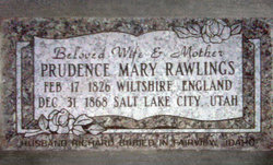 Prudence Mary <I>Rawlings</I> Rawlings