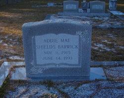Addie Mae <I>Mathers</I> Barwick