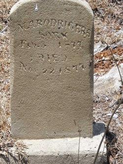M  A  Rodrigers (1877-1877) - Find A Grave Memorial