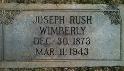 Joseph Rush Wimberly, Sr