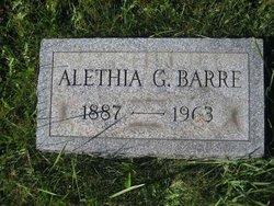 Allethia G. <I>Spalding</I> Barre