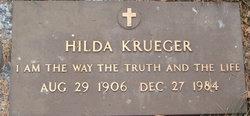 Hilda Helena <I>Hinz</I> Krueger