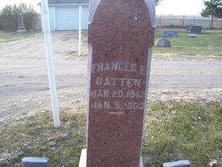 Frances Eliza <I>Gates</I> Gatten