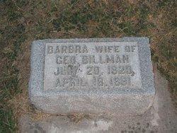 Barbra <I>Enber</I> Billmann