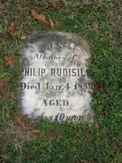 Philip Rudisill, III