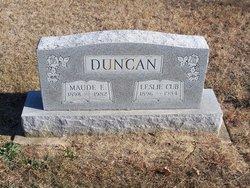Leslie Cub Duncan