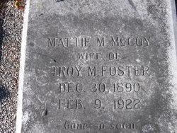"Martha Matilda ""Mattie"" <I>McCoy</I> Foster"