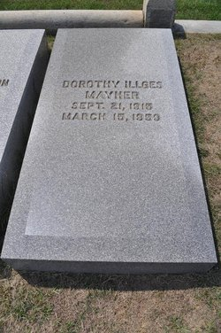 Dorothy <I>Illges</I> Mayher