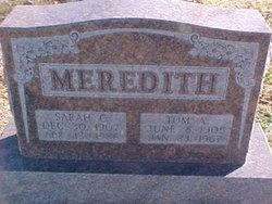 Tom A. Meredith
