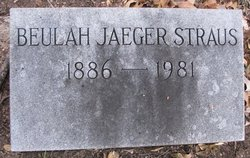 Beulah <I>Jaeger</I> Straus