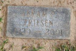 Abram P Friesen