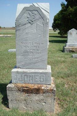 Nancy E. <I>Sanders</I> Jones