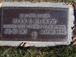 Mary R McGraw