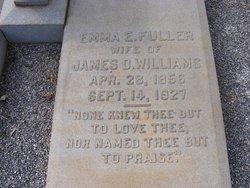 Emma Elizabeth <I>Fuller</I> Williams