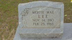 Mertie Mae Lee