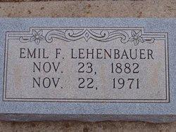 Emil F. Lehenbauer