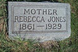 Rebecca <I>Shotwell</I> Jones