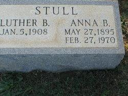"""Anna Belle """"Annie"""" <I>Duvall</I> Stull"""