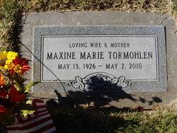 Maxine Marie Tormohlen