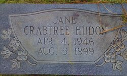 Jane <I>Crabtree</I> Hudon