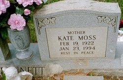 Nancy Kate <I>Moss</I> Bennett